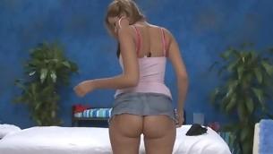 Sexy eighteen Domain old sexy slut gets fucked hard by her massage therapist!